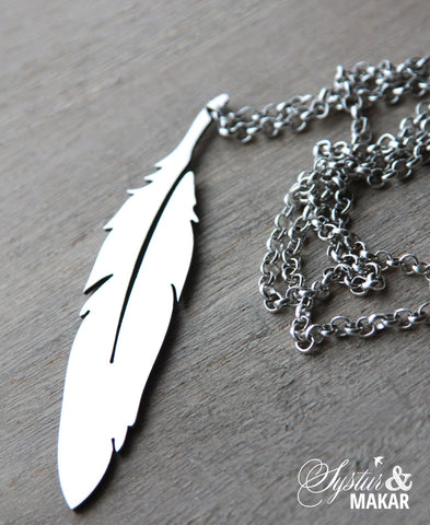 Steel - feather