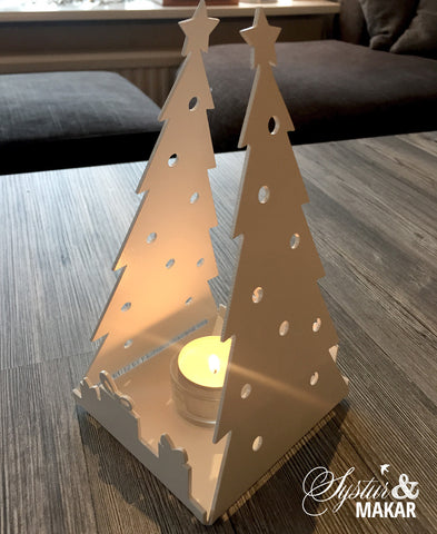 Christmastree- candle holder