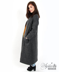 Turna woolcoat grey