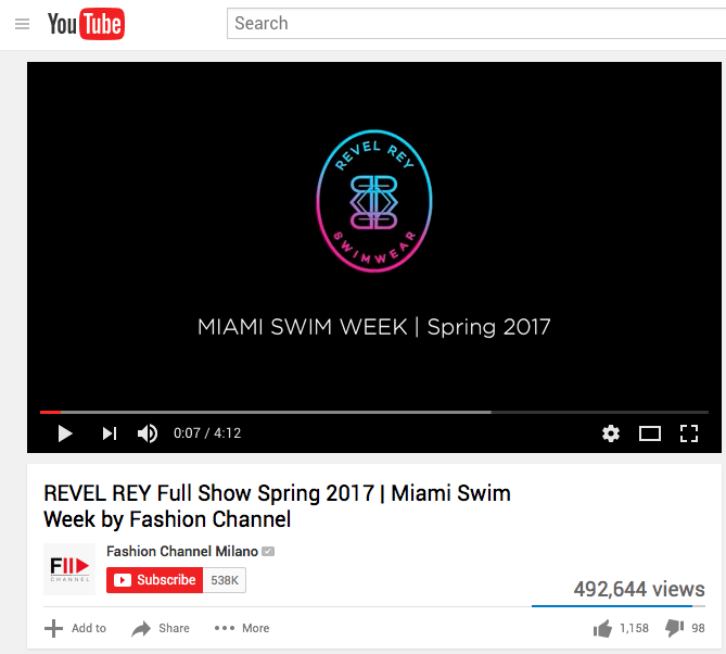 Miami Swim Week - Fashion Channel