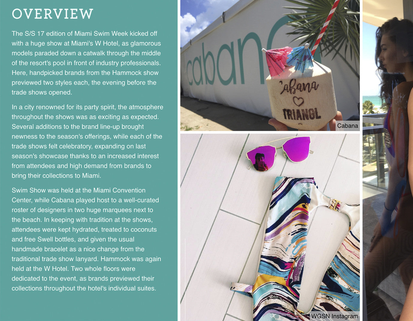 WGSN Trend Report- Miami Overview
