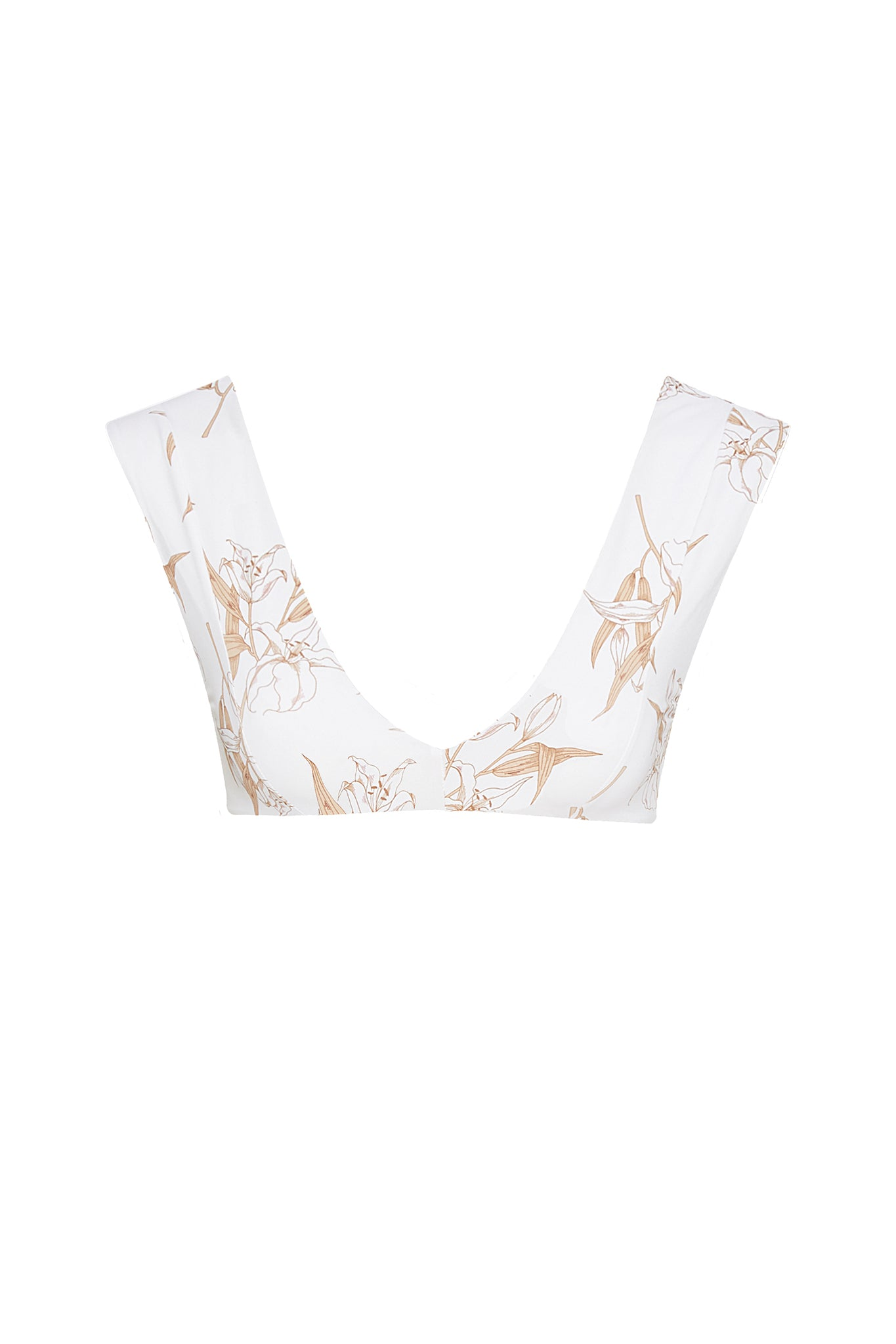 Abigal Top - White Lily