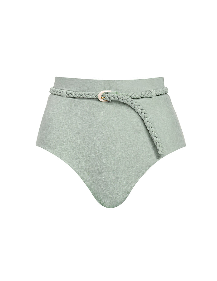 Revel Rey April Belted Bottom in Sage