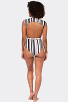 Avery One Piece - Driftwood Stripe