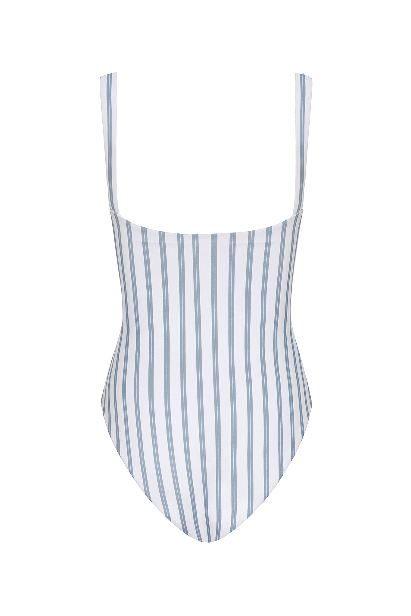 Carmen Cut-out One Piece in Hampton Blue and White Stripe