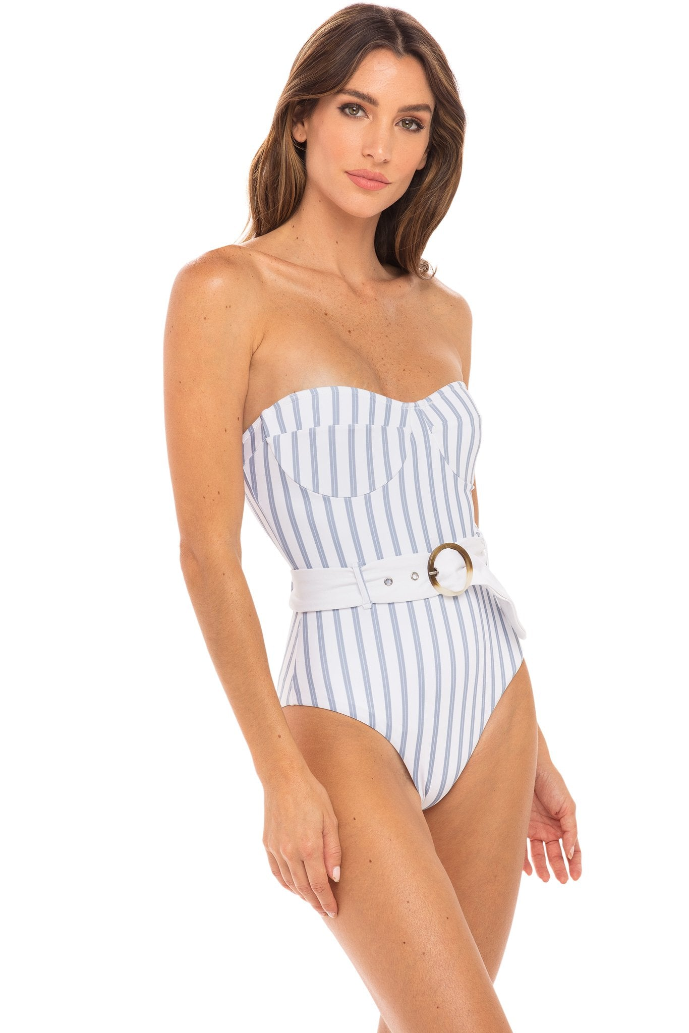 Kate One Piece - Hampton Stripe