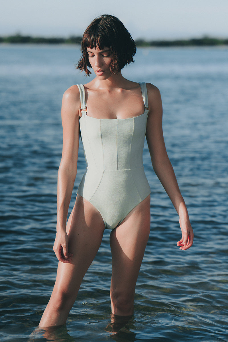 Revel Rey Hunter One Piece in Sage