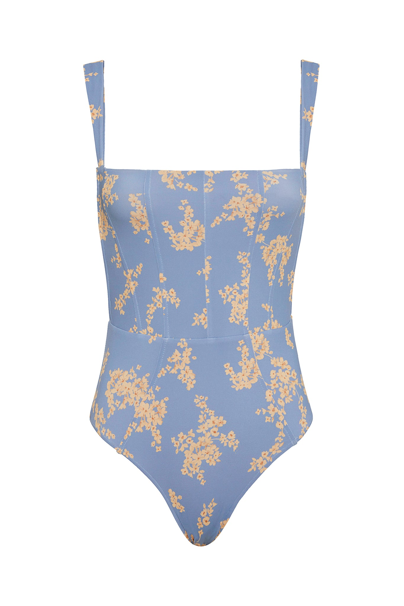 Hunter One Piece - Blue Botanical