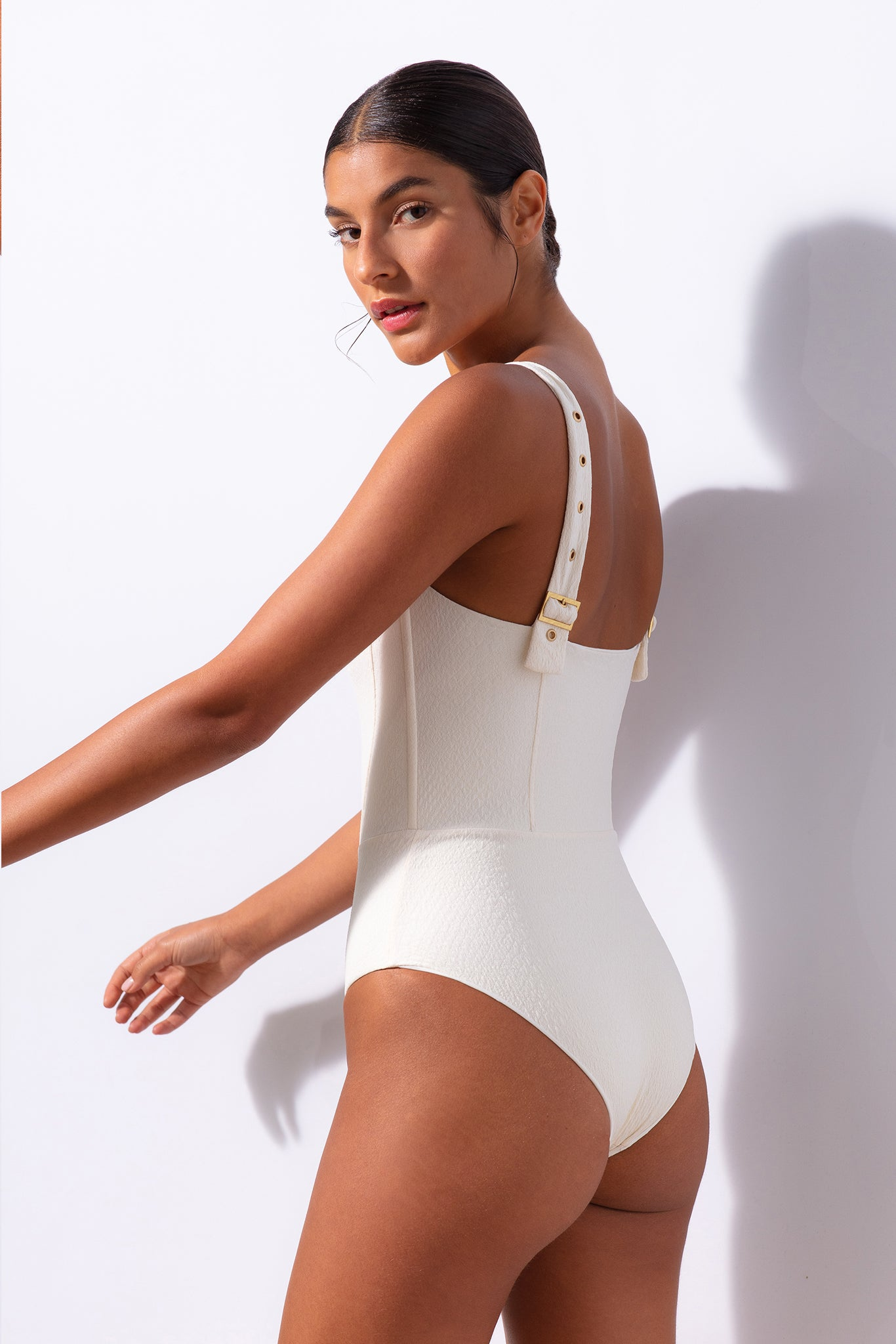 Hunter One Piece - Cream Snake