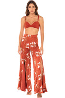 Kelly Sway Pants - Rust Lily