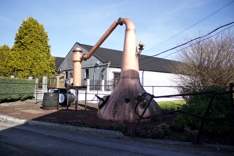 Auchentoshan distillery original still