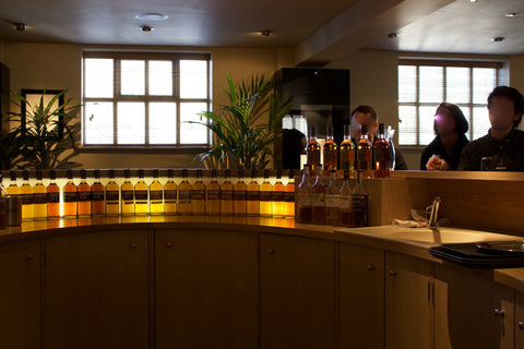 Auchentoshan Bar Tasting after Tour