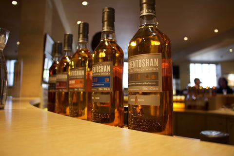 Auchentoshan Whisky Distillery Tour at the Bar