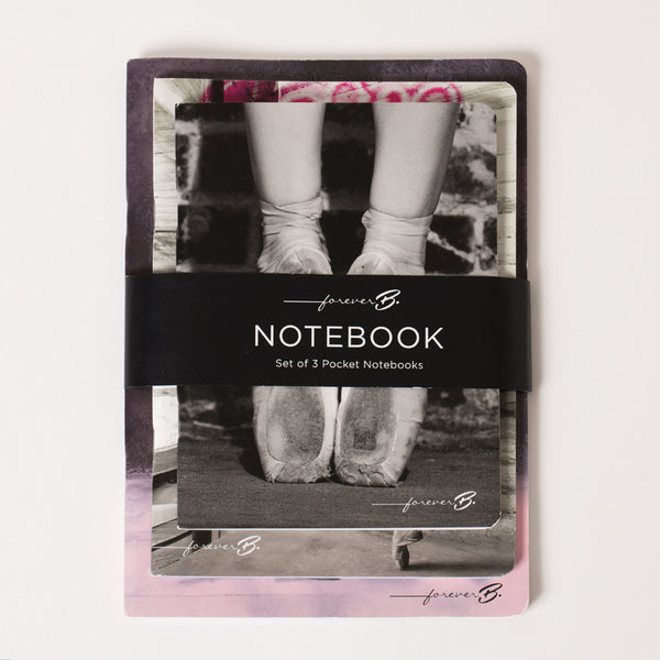 Paper notebook Kit, Love Dance pointe shoes