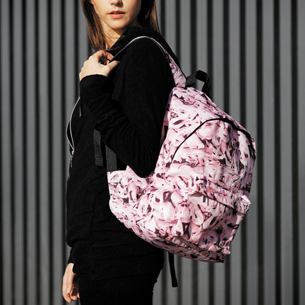 Pink backpack, Pointe Shoes