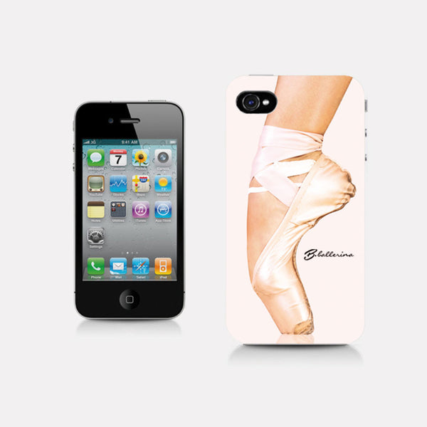 iPhone 4 case, pointe shoe