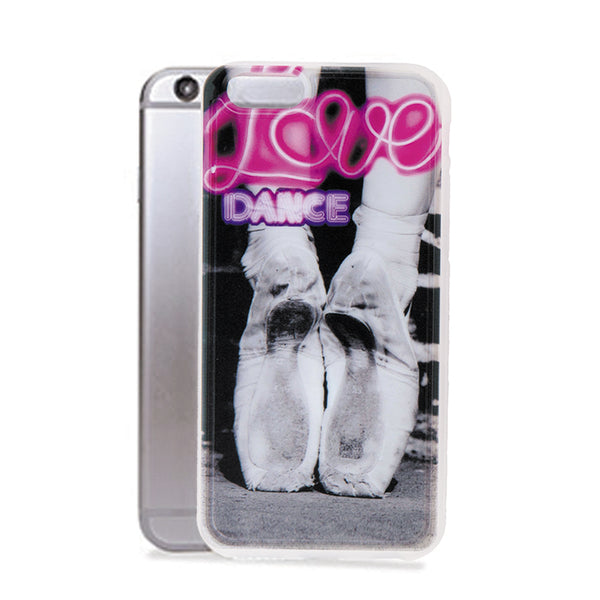 iPhone 6 case, Love Dance Pointe Shoes