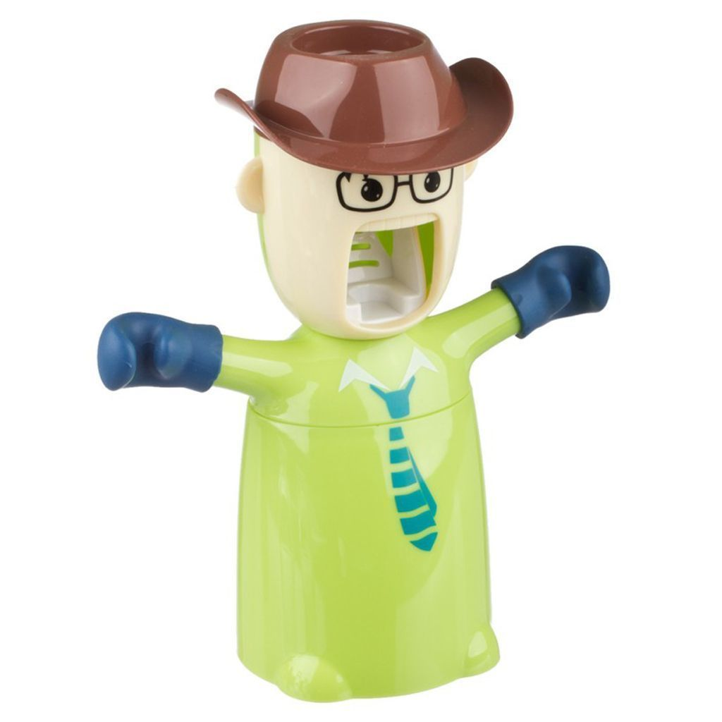 COWBOY TOOTHPASTE DISPENSER