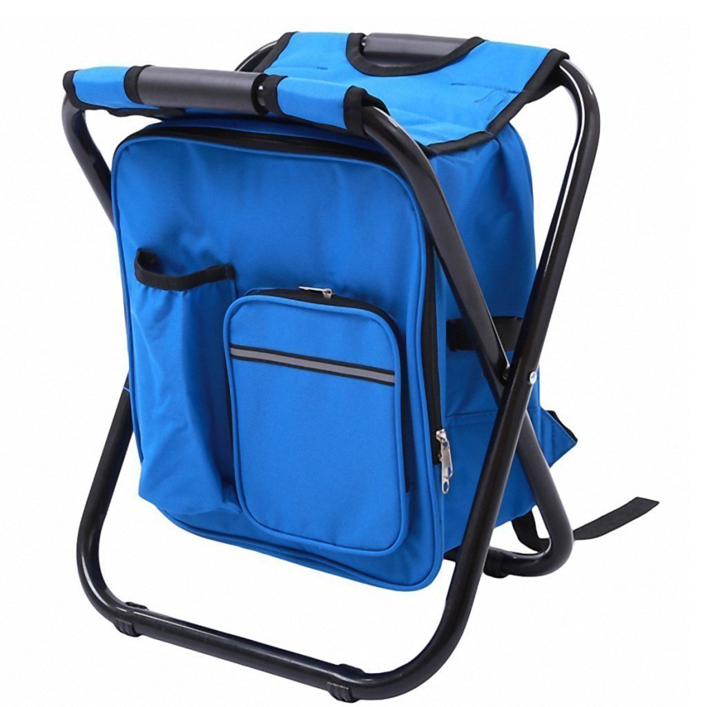 FOLDING CHAIR WITH BACKPACK