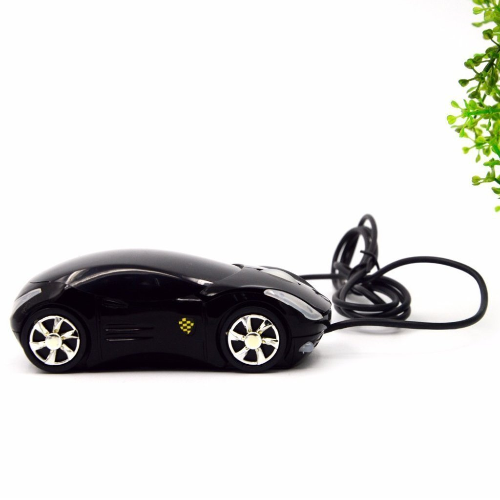 WIRED CAR SHAPED OPTICAL MOUSE