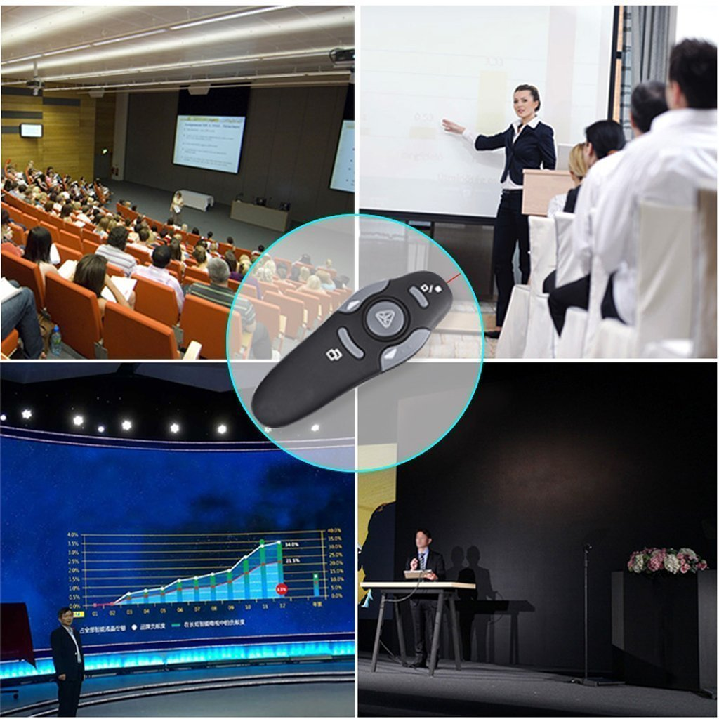 WIRELESS LASER PRESENTATION POINTER