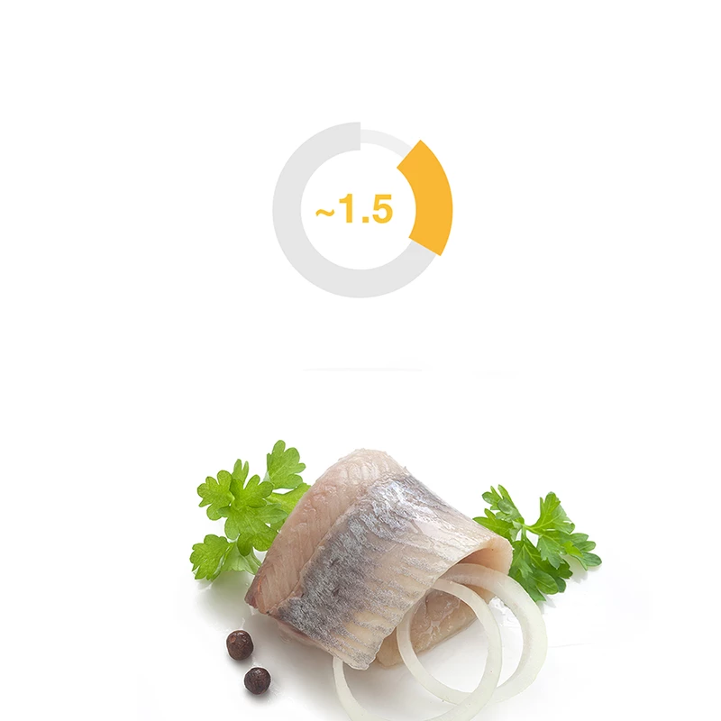 We get about 1.5g/d creatine directly from fish and meat