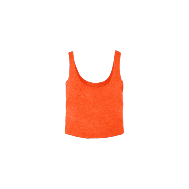 Blonyx Series 09 Boxy Flow Top - ORANGE