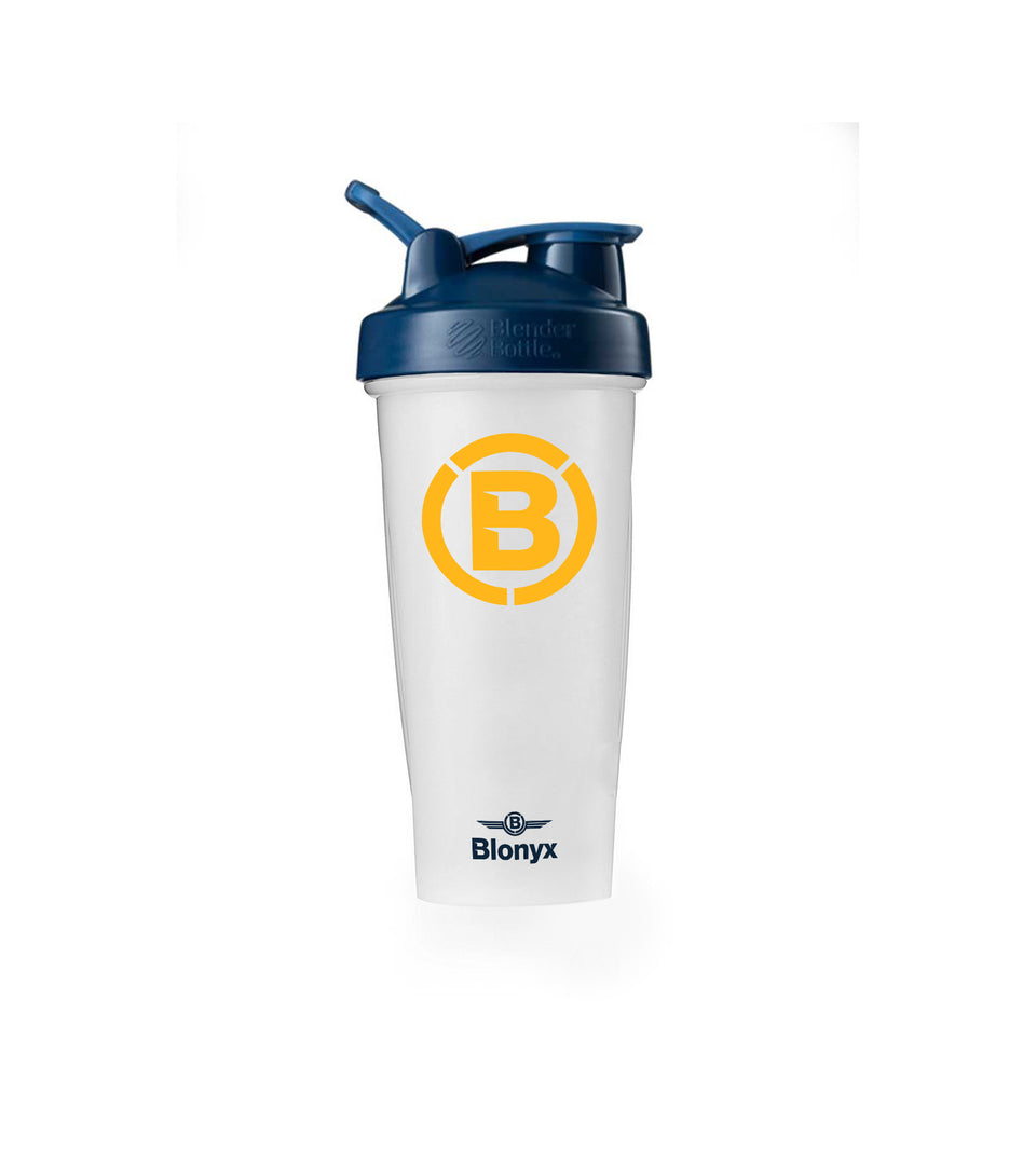 Blonyx Blender Bottle Classic Shaker Cup - Navy/Yellow
