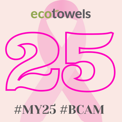 EcoTowels Donates £250 to Breast Cancer UK