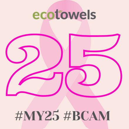 EcoTowels Donates to Breast Cancer UK