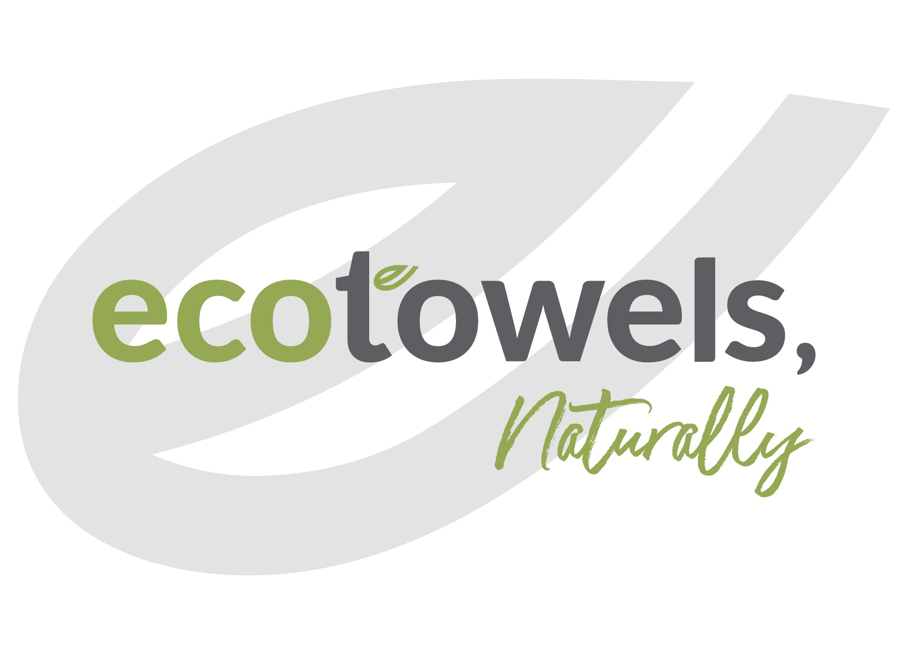 EcoTowels Naturally Sticker