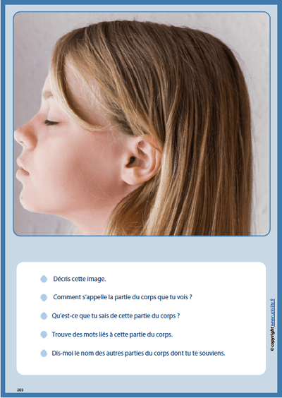 MON CORPS | Notions et vocabulaire