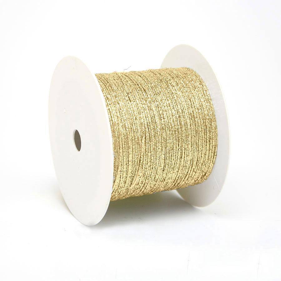 Metal Cording Wired Goud