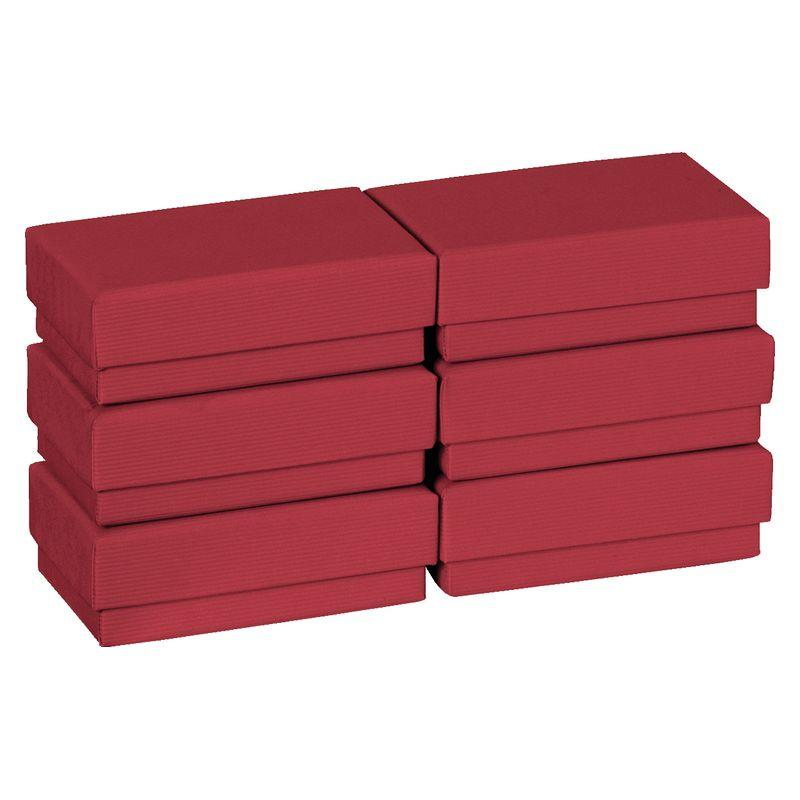 Cadeaudozen A8 One Colour donkerrood 6st