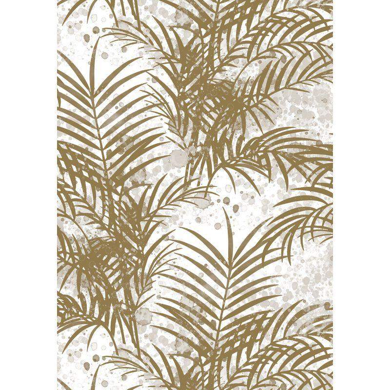 Cadeaupapier Palm Springs Gold
