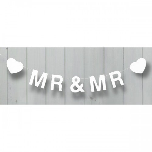 Mr & Mr Wooden Bunting