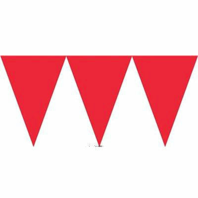 Red Paper Bunting