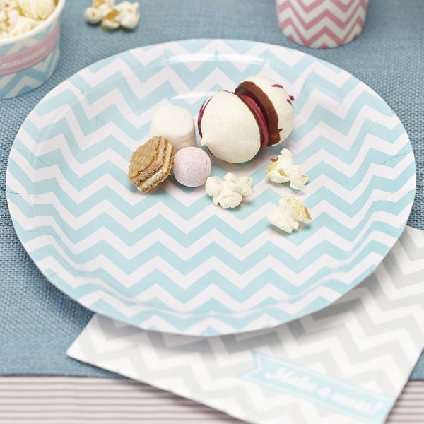 Chevron Plates - Mint