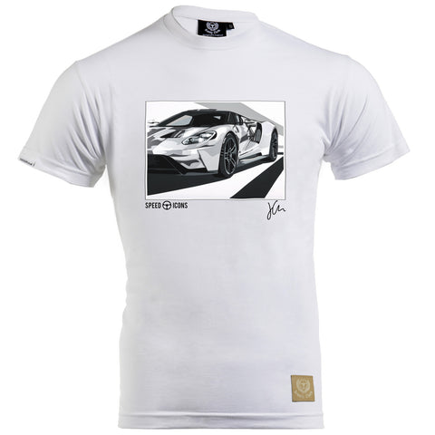 Mercedes Benz 300SLR Gent's T-Shirt by Joel Clark