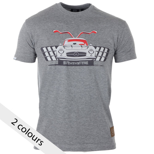 Mercedes Benz 300SL Gullwing Gent's T-Shirt - Iconic Cloth