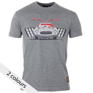 Mercedes Benz 300SL Gullwing Gent's T-Shirt - iconic-cloth