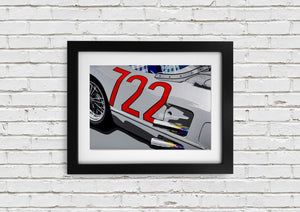 "Signed, Limited Edition Joel Clark Print ""722"" - Iconic Cloth"
