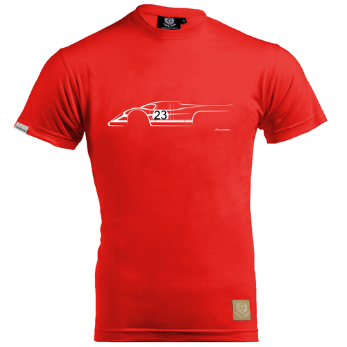 Porsche 917 Salzburg T-Shirt by Tavis Highlander - iconic-cloth