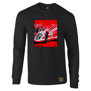 Porsche 917 Salzburg Long Sleeved T-Shirt by Joel Clark