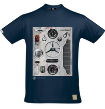 Limited Edition Geoff Bolam Aston Martin DB5 T-Shirt - iconic-cloth