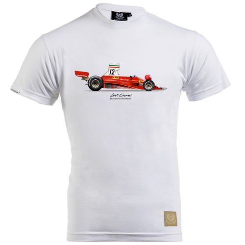 Ferrari 312T T-Shirt by Last Corner - iconic-cloth