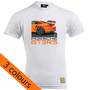 Porsche 911 GT3RS T-Shirt by Joel Clark - iconic-cloth