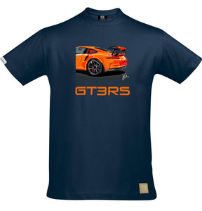 Porsche 911 GT3RS T-Shirt by Joel Clark - Iconic Cloth
