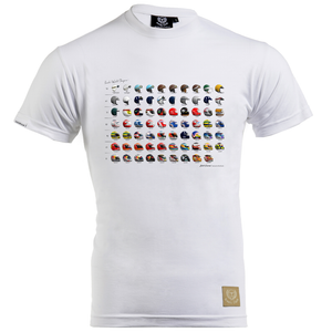 World Champion Helmets T-Shirt by Last Corner - iconic-cloth