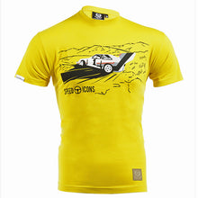 Audi Quattro S1 Pikes Peak Gent's T-Shirt By Joel Clark - iconic-cloth